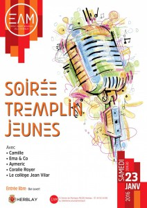 Soirée tremplin musical
